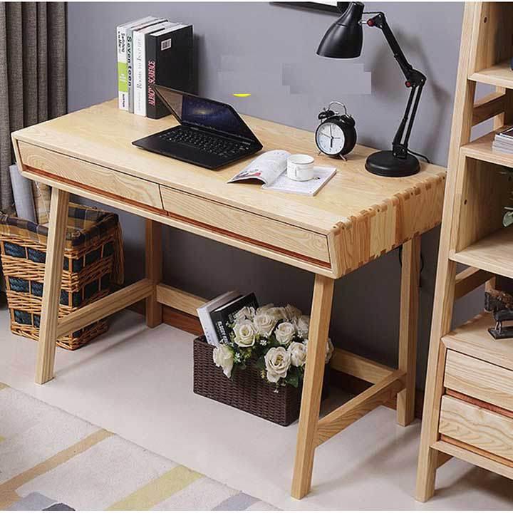 Tìm hiểu về bàn làm việc gỗ tự nhiên
